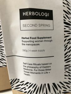 Herb Supplement for Menopause Symptoms