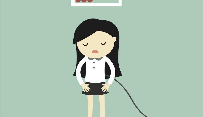 Energy running low through menopause